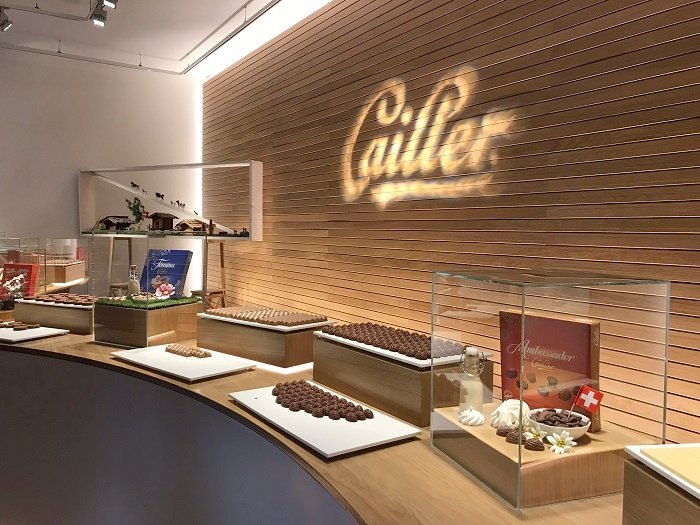 Cailler & Nestle Chocolate Factory
