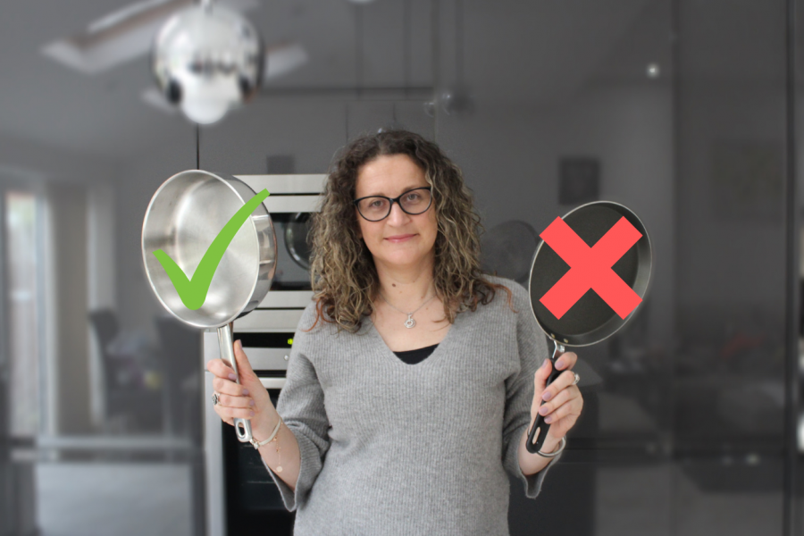 Why I Avoid Non-Stick Pans and Cookware