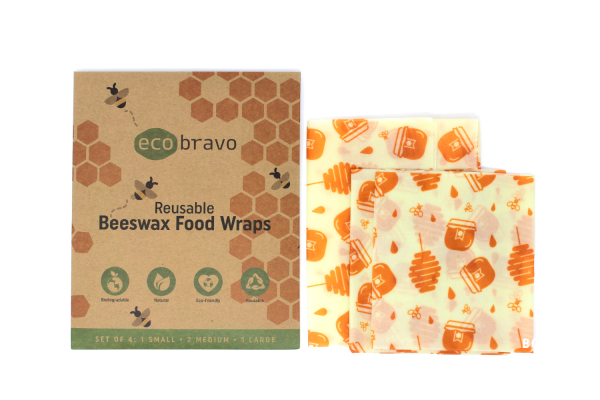 Reusable Beeswax Food Wraps Set Of 4 1.png