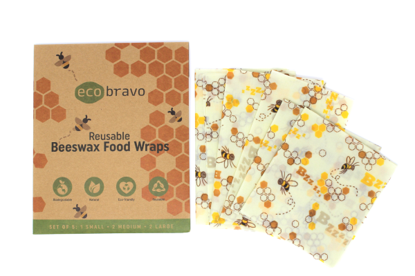 Reusable Beeswax Food Wraps Set Of 5 1.png