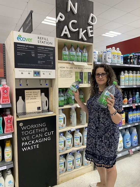 Waitrose Unpacked - Plastic Free Trial in Oxford Store