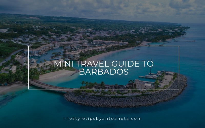 Mini Travel Guide To Barbados