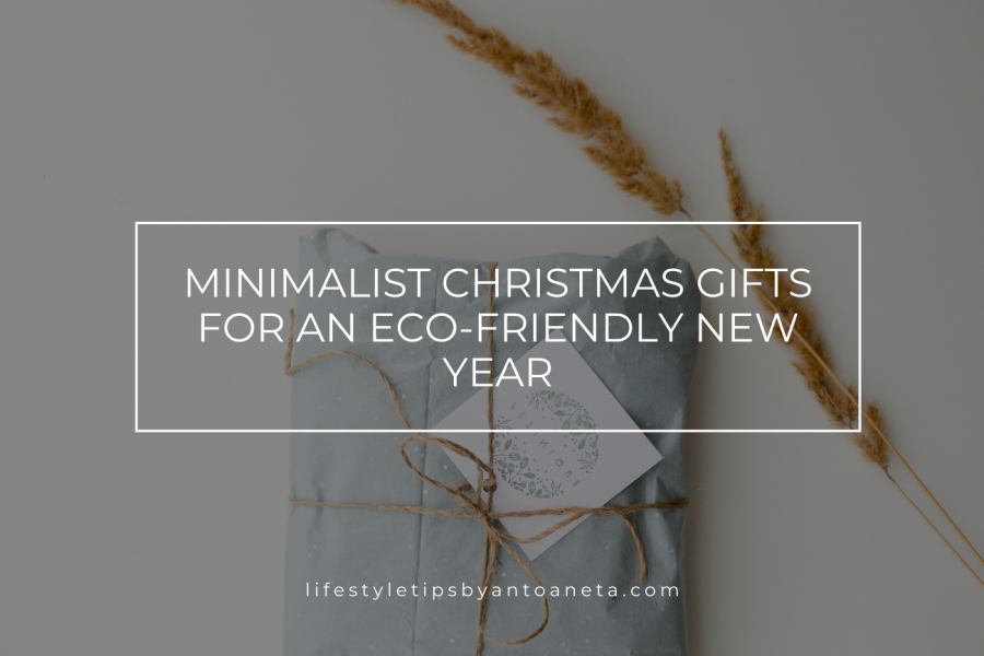 Minimalist Christmas Gifts for an Eco-friendly 2020