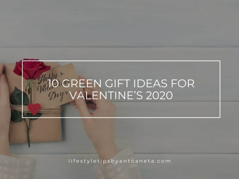 10 Green Gift Ideas For Valentines 2020 Min