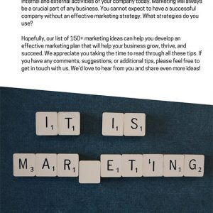 150 Ways To Market Your Business 142