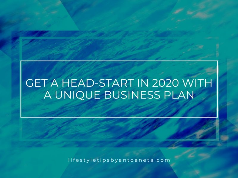 Get A Head Start In 2020 With A Unique Business Plan Ionised Water