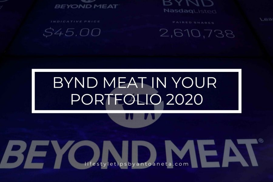 BYND Meat In Your Portfolio 2020