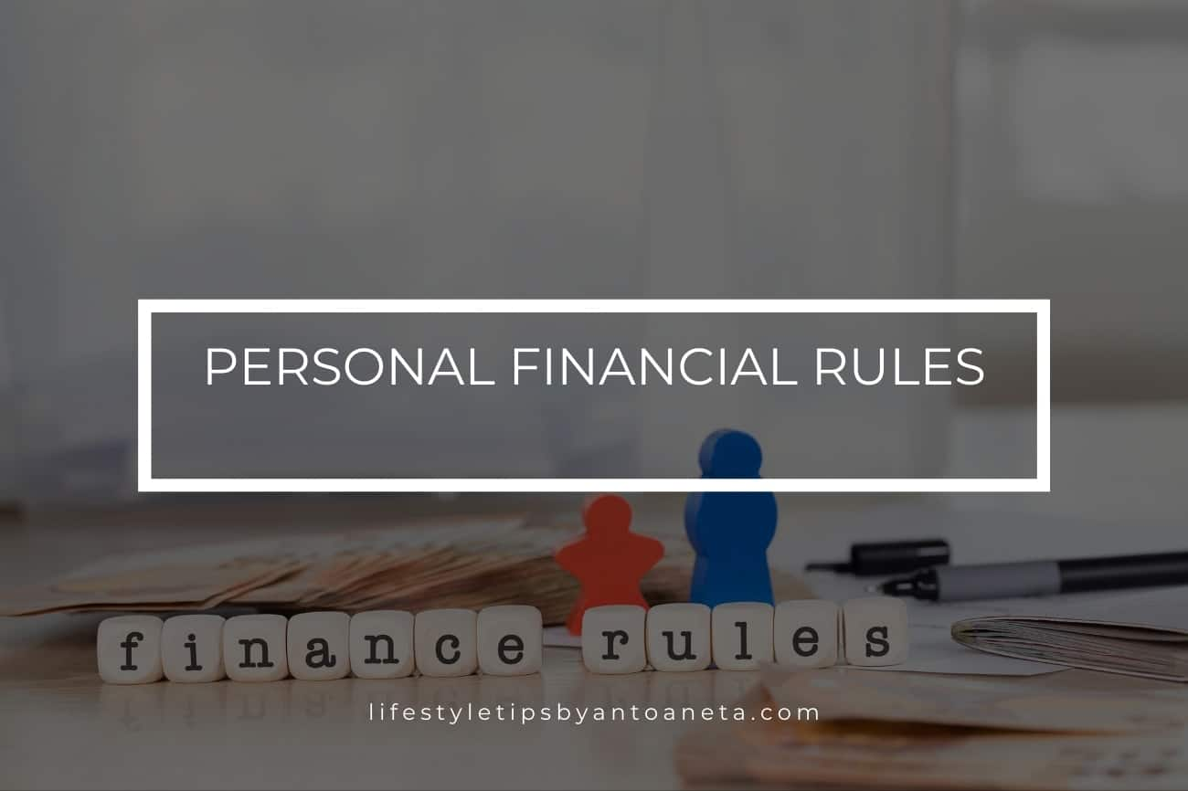 Personal Financial Rules