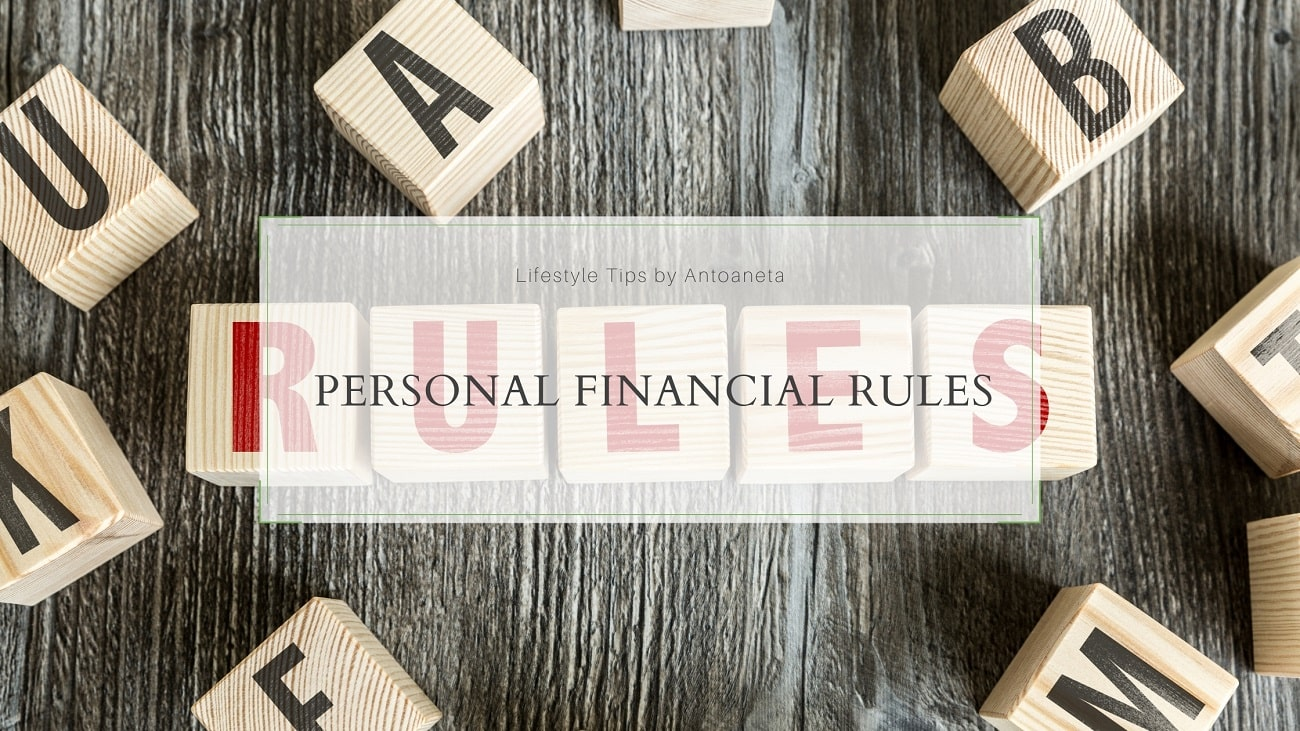 Personal Investment Rules