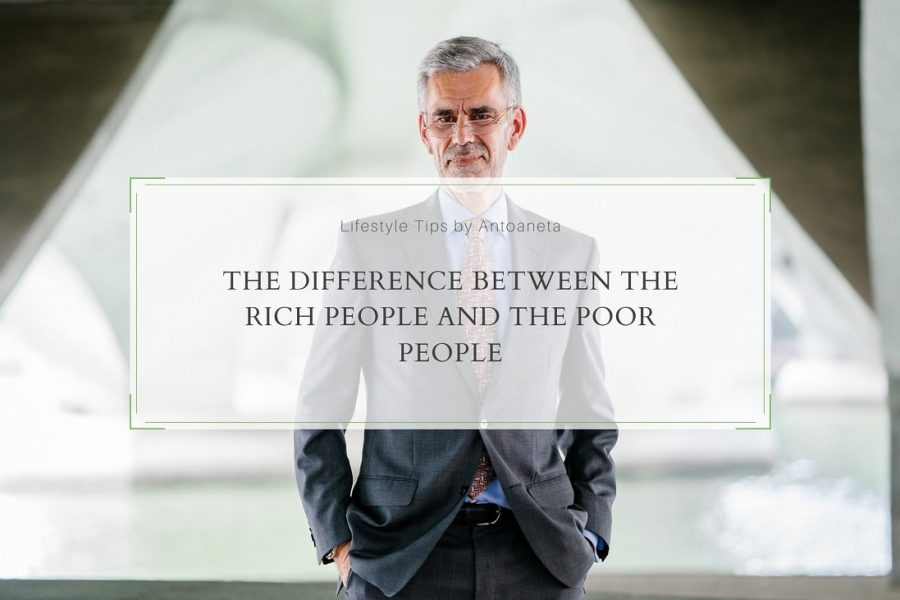 The Difference Between The Rich People And The Poor People