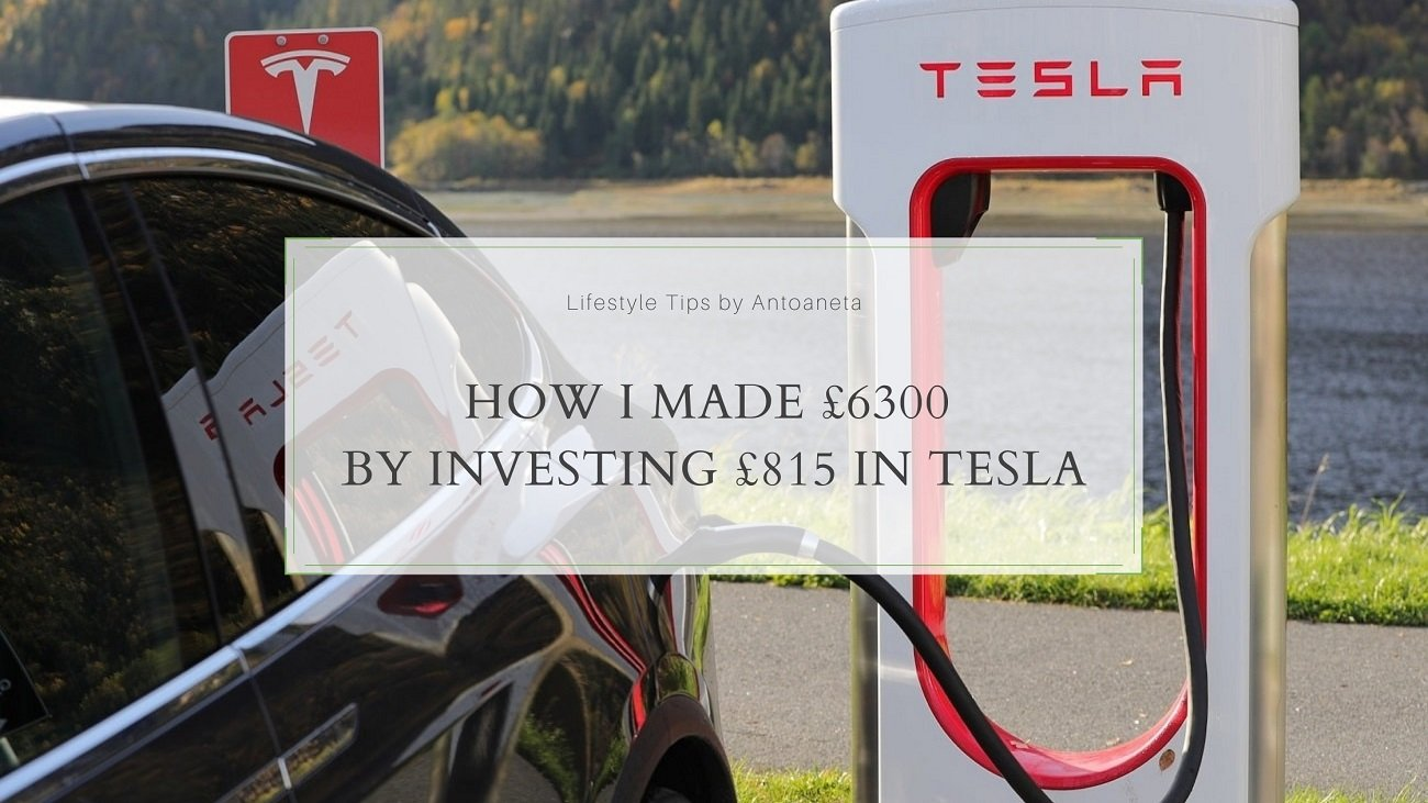 How I Made £6300 By Investing £815 In Tesla