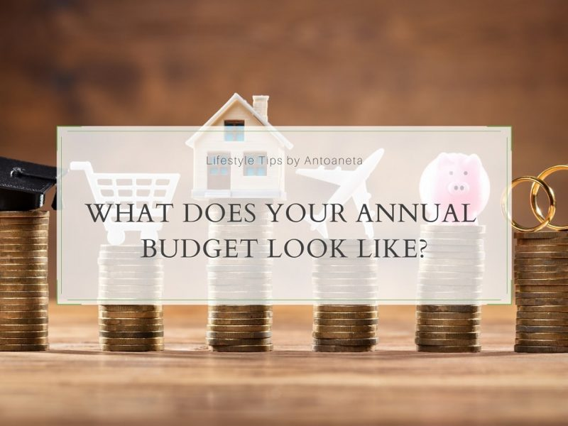 What Does Your Annual Budget Look Like?