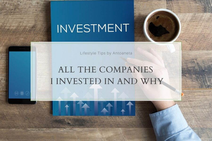 All The Companies In My Investment Portfolio And Why