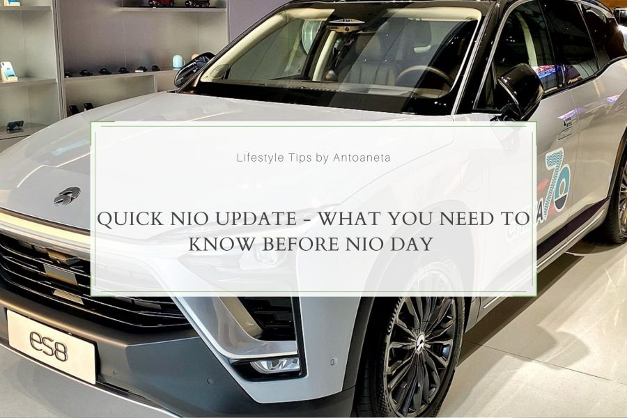 Quick NIO Update – What You Need to Know Before NIO Day