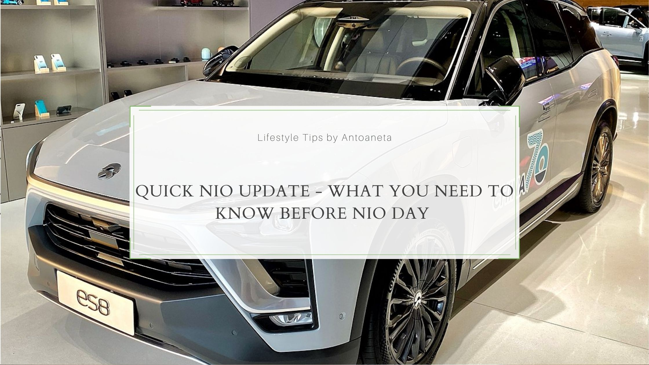Quick Nio Update What You Need To Know Before Nio Day