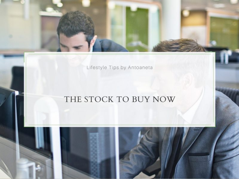 The Stock To Buy Now