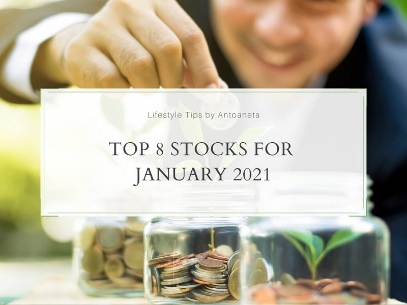 Top 8 Stocks For January 2021