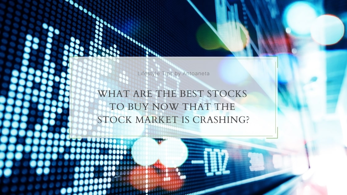 What Are The Best Stocks To Buy Now That The Stock Market Is Crashing