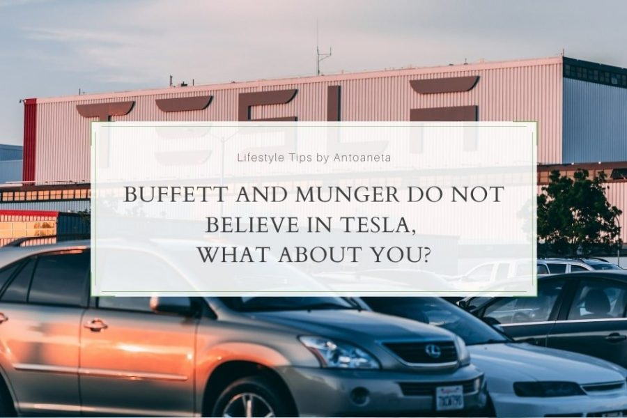 Buffett And Munger Do Not Believe In Tesla, What About You?